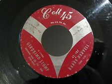 Rockabilly 45 BARRY DARVELL Geronimo Stomp / How Will It End? COLT 45 107