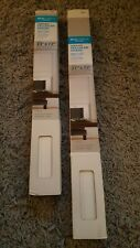 """(2) Real Simple Solutions SNOW Cordless Cellular Shade 23"""" x 72"""",27"""" x 72"""" White"""