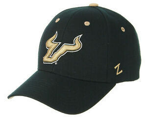 SOUTH FLORIDA BULLS USF NCAA COMPETITOR GREEN STRAPBACK ZEPHYR CAP HAT NEW!