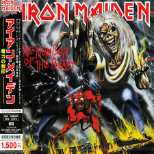 IRON MAIDEN - The Number Of The Beast - Japan Enhanced CD TOCP-53758