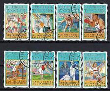 JO été Togo (34) série complète de 8 timbres oblitérés