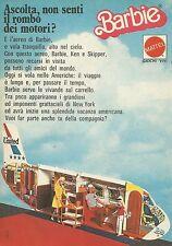 X1028 BARBIE - Aereo - Mattel - Pubblicità 1976 - Advertising
