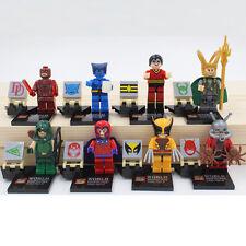 Hero Blocks Custom space Marvel & DC minifigures - BUY 3 GET 7 FREE - UK Seller!