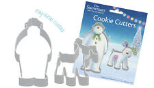 The Snowman & The Snowdog Christmas Cookie Cutters Set of 2 -  FREE P&P