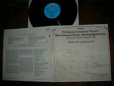 M-/NM  MOZART  STRING QUARTETS 14&15  ALBAN BERG QUARTETT Telefunken´79 LP