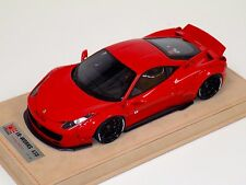 1/18 Ferrari 458 Liberty Walk LB Performance in Red with wheels A N BBR or MR
