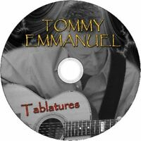 TOMMY EMMANUEL GUITAR TAB CD TABLATURE GREATEST HITS BEST OF MUSIC ACOUSTIC