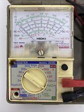 Hioki Made in Japan 3015 Vintage Analog Multimeter Hitester