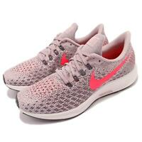 NEW! Nike Women's Air Zoom Pegasus 35 Running Shoes Pnk/Gry #942855-602 152Y yz