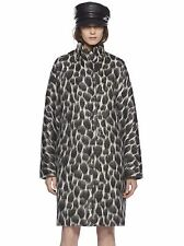 Gucci Black Animalier Mohair Coat in Leopard-Print Size:40/4 $1995 NWT ITALY