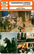 FICHE CINEMA : TRANSAMERICA EXPRESS - Wilder,Clayburgh,Hiller 1976 Silver Streak