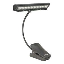 Stagg 58857 eu Pupitre D'eclairage 10 LEDs Noir