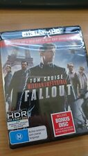 Mission Impossible 6 Fallout - 4K Ultra HD+ Blu-ray New and Sealed region B