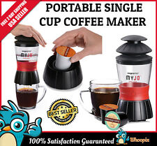 Portable Coffee Maker K Cup Brewing Tea Travel Camping Office Kuerig Single Cup