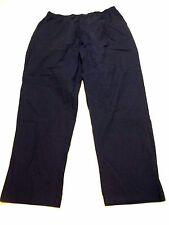 Blair Womens Size 20W Blue Elastic Waist Casual Woven Pants New