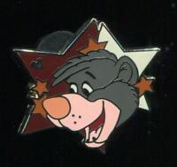 WDW 2012 Hidden Mickey Series Star Characters Baloo Disney Pin 91259