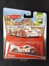 2012 Disney Pixar Cars WGP SHU TODOROKI NIP 12/17