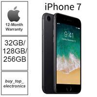 Apple iPhone 7 32/128/256  Black/Jet Black/Silver/Gold A1778 12 Months Warranty