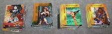 400+ FLEER 1995 MARVEL OVERPOWER CARD GAME CARDS LOT