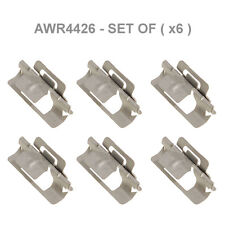 LAND ROVER DISCOVERY 2 99-04 WINDSCREEN FINISHER PILLAR TRIM CLIP SET OF 6 NEW