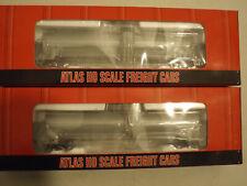(2) Ho Atlas Acf 23,500 gal tank cars in original boxes