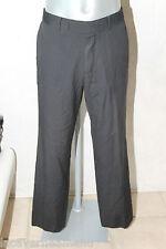 pantaloni abito lana grigio HUGO BOSS rossellin/filmche taglia 42-44 (GR 50)