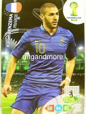 Adrenalyn XL - Karim Benzema - Frankreich - Fifa World Cup Brazil 2014 WM