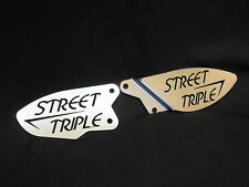 Foot pegs heel plates guard for TRIUMPH STREET TRIPLE 675 07-12