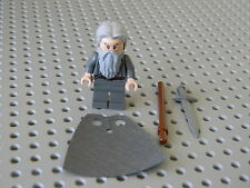 Lego 79014 The Hobbit  Gandalf the Grey Minifigure with Weapons - New Condition