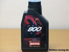 MOTUL 800 2t ROAD RACING FACTORY LINE 1 LITRI 2 clock mischöl per Motorsport