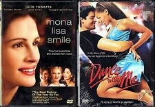 Mona Lisa Smile (DVD, 2004) & Dance With Me - 2 Romantic Drama DVDs