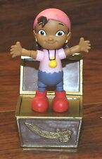 "Walt Disney Jake And The NeverLand Pirates Izzy 3.5"" Inch Figurine Bendable Toy"