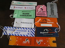 10 air islands luggage baggage bag tag airline airways first business amenity