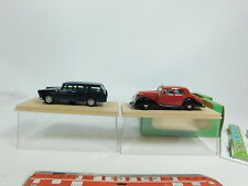 BD424-1# 2x Eligor 1:43 coche de metal: 1006 Panhard + 1137 Peugeot 404 muy buen