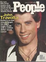 JOHN TRAVOLTA John Casablancas GEORGE JONES Billy Carter 1977 People magazine