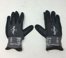 Ansell 11-840 Nitrile Large Gloves 11 Pair - Black