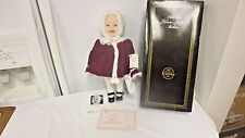 "1987 Ashton Drake Yoland Bello 13 1/2"" Porcelain Doll Jennifer-Picture Perfect 3"