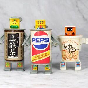 Vintage 1985 Takara Telecoma Warriors Pepsi Canned Figure Transformers Japan