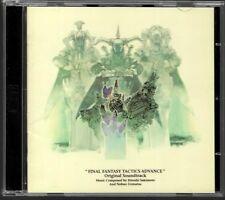 CD MANGA / FINAL FANTASY TACTICS ADVANCE - ORIGINAL SOUNDTRACK O.S.T / 2CD