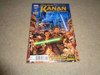 KANAN #1 STAR WARS TV REBELS 2015 COMIC BOOK FIRST PRINT 1ST KANAN APP. NR-MINT