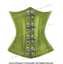 Heavy Duty 26 Double Steel Boned Waist Training Leather Underbust Corset 8520-MC