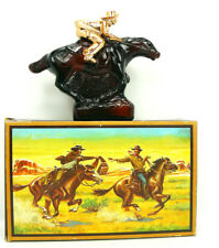Vintage Avon Pony Express Wild Country After Shave Full With Box 5oz Amber
