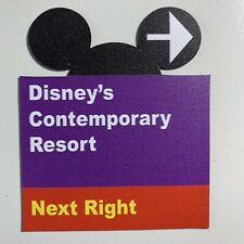 Walt Disney World Road Sign Inspired Magnet Contemporary-Ears Cut Out