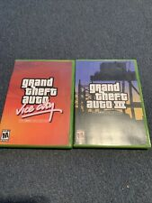 New listing Grand Theft Auto Vice City and Grand Theft Auto 3 Xbox Collection, ) Gta