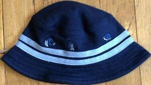 NEW Vintage 2001 Reversible GYMBOREE Blue Snails HAT Size 3-6 mo NWT