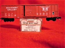 KD 25090 RAHWAY VALLEY 50' Rib Side Box Car #1014 'NEW' N-SCALE
