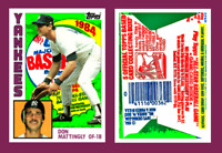 """Don Mattingly Rookie RC 1984 Wax Pack """"Custom Novelty Art Card"""" Display Only"""