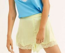 Free People KB966846 So Fine Sleep Shorts Moody Lime Size XS
