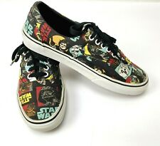 407d59aeb21 Vans Star Wars Classic Men s 8 Women s 9.5 Shoes May The Force Be With You  Darth