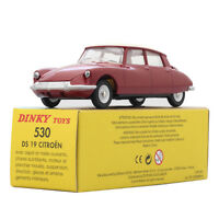 Flawed Atlas 1:43 DINKY TOYS Car 530 Red DS 19 Opening hood Diecast CAR Model